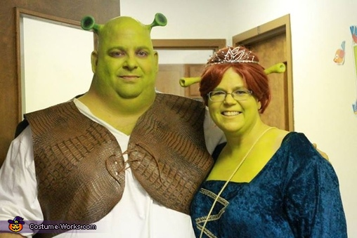 Shrek and Fiona Costume  sc 1 st  Costume Works & Shrek and Fiona Couple Costume
