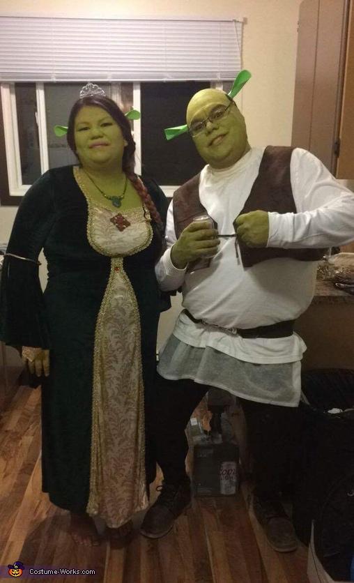 Shrek and Princess Fiona Costume