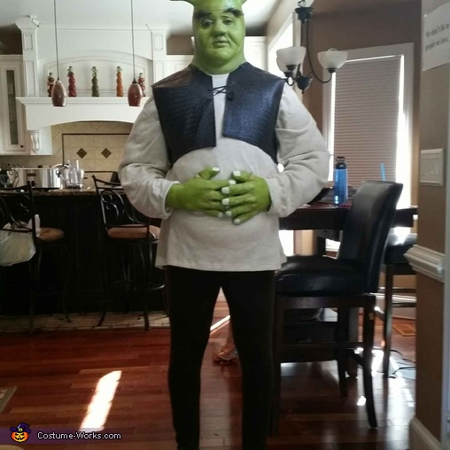 Shrek Couple Homemade Costume