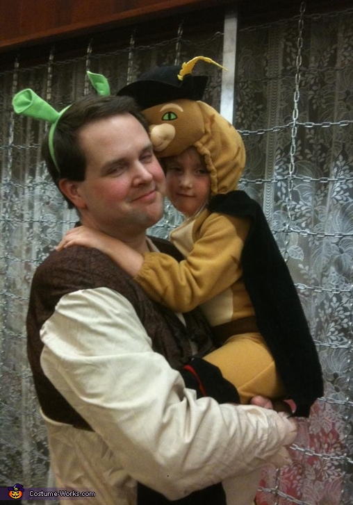 Shrek Family Costume