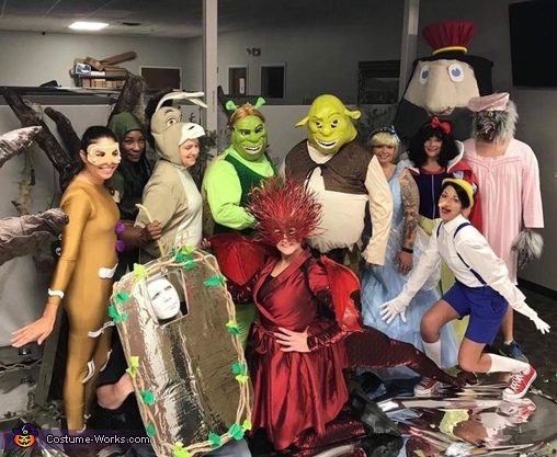 Shrek Group Halloween Costume Diy Costumes Under 35