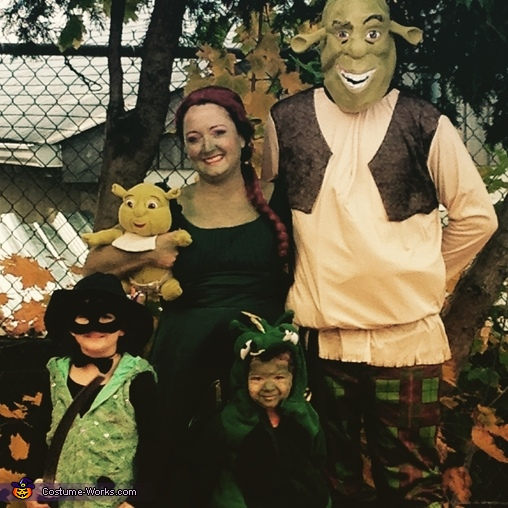 Shrek & Family Costume