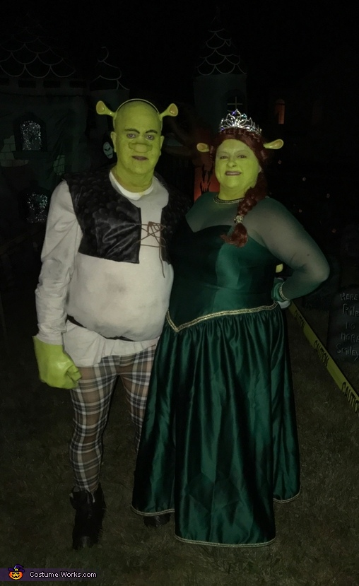 Shrek & Fiona Costume