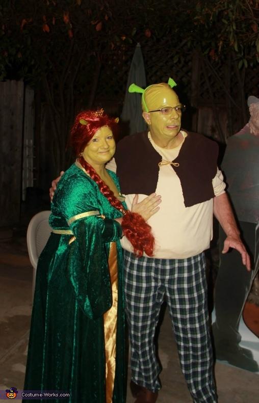 Shrek & Fiona Costumes