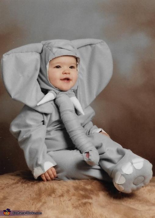 Shy Elephant Costume