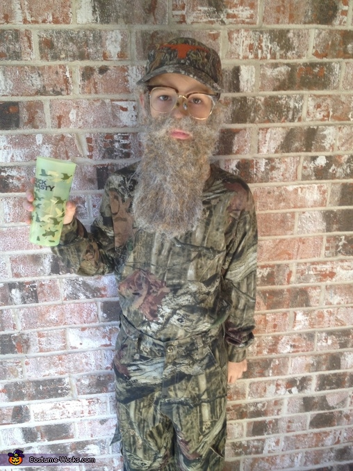 & Si Robertson from Duck Dynasty Costume