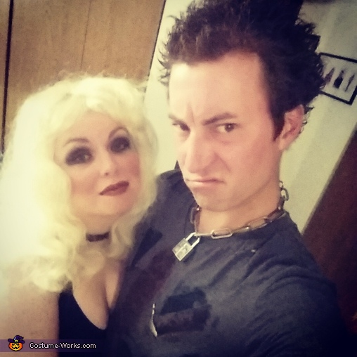 Sid and Nancy Homemade Costume