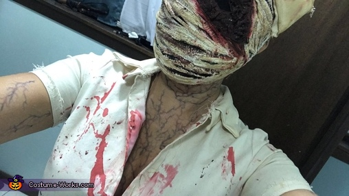 Silent Hill Nurse Homemade Costume