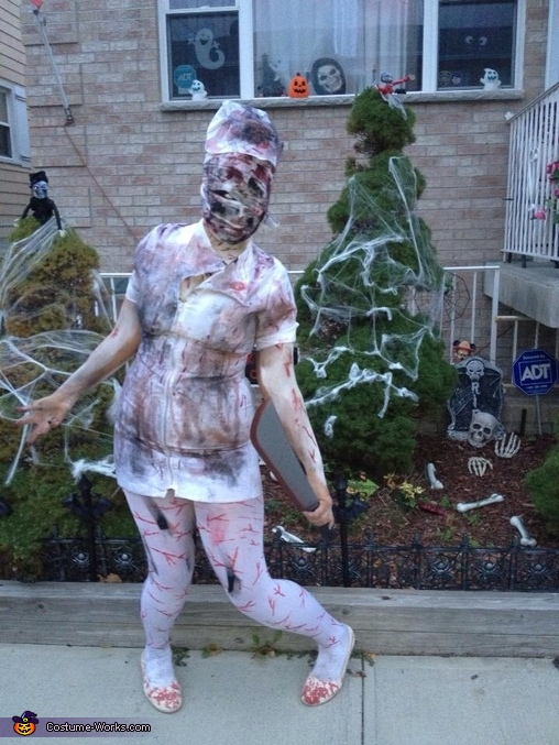 Women's Silent Hill Nurse Costume