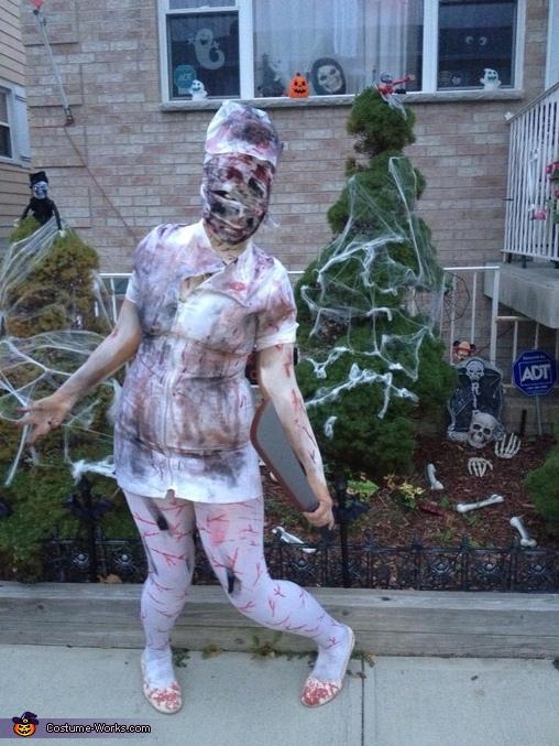 Silent Hill Nurse Homemade Costume