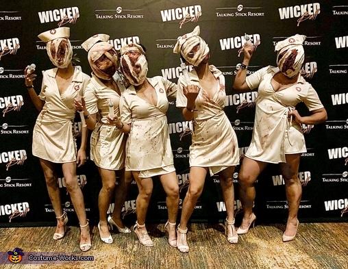 Silent Hill Nurses Costume