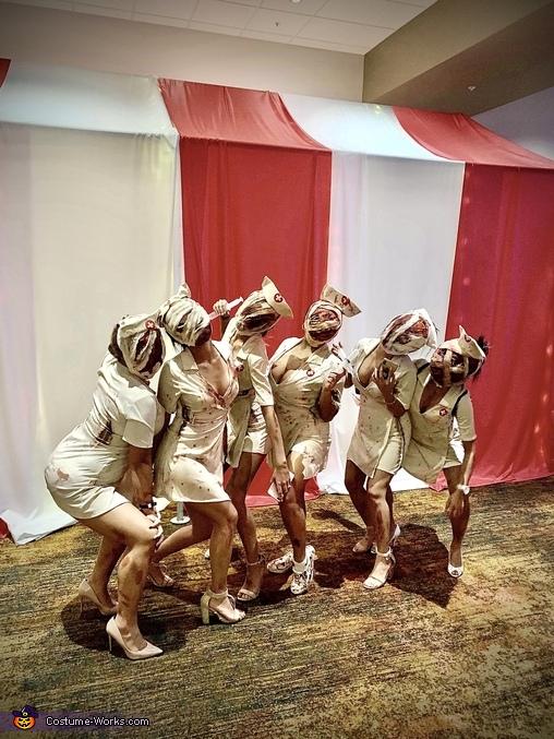 Silent Hill Nurses Homemade Costume