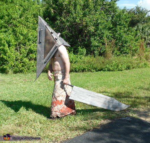 Silent Hill Pyramid Head and Nurse Costumes