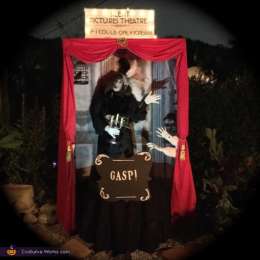Silent Movie Theater Homemade Costume