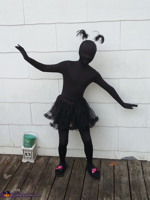 Silly Shadow Homemade Costume