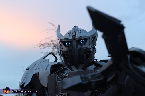 Silverbolt Transformer Costume