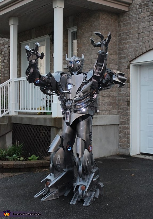 Silverbolt Costume