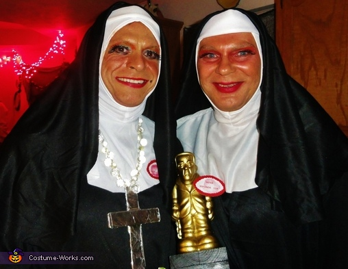 Sisters Dixie & Sofonda Nuns Costume
