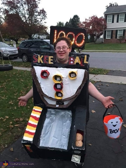 Patrick the Skee-Ball Costume
