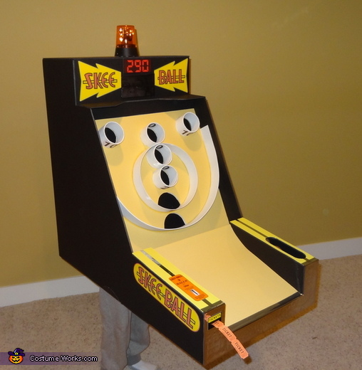 Skee Ball Machine Costume