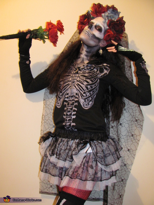 Skeletina Homemade Costume