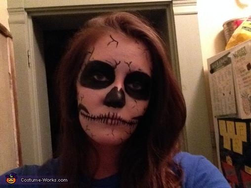 Skeleton Costume DIY