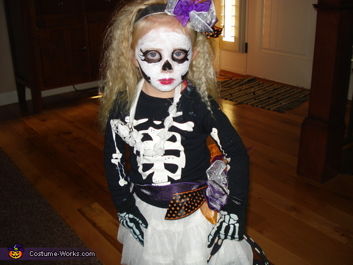 Just Her, Skeleton Children Costume