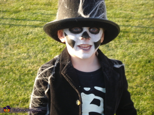 Just Him, Skeleton Children Costume