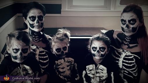 Skeleton Family Costume