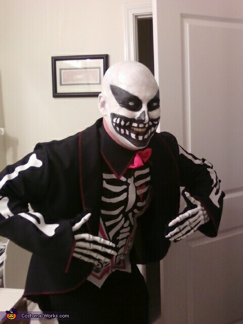 Scary Skeleton Face, Skeleton Costume