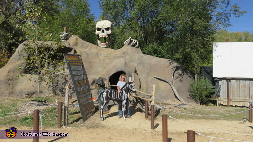 Skeleton Horse Costume