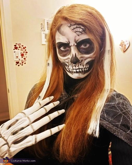 Skeleton Princess Homemade Costume