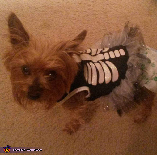 Skeleton Puppy Costume