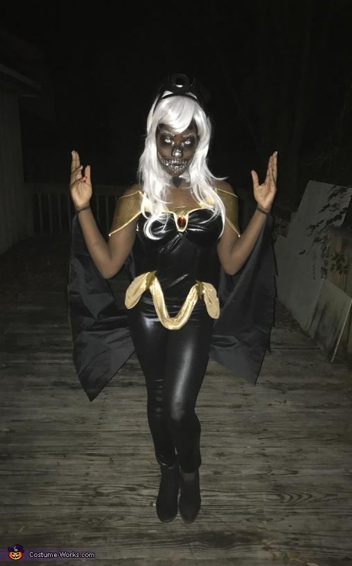 Skeleton Storm Costume