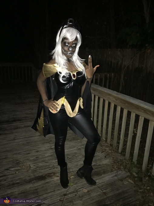 Skeleton Storm from Xmen, Skeleton Storm Costume