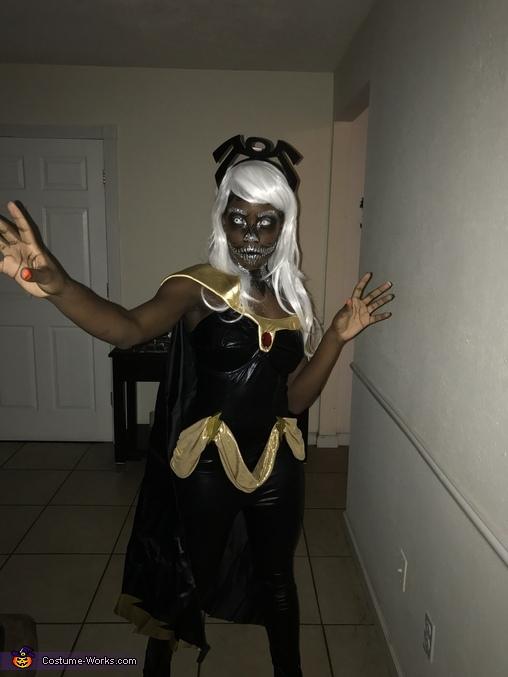 Skeleton Storm from Xmen, Skeleton Storm Costume