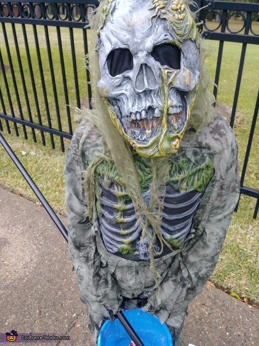 Skeleton Swamp Zombie Costume