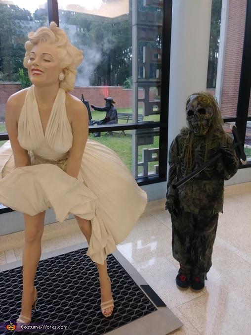 Sorry Marilyn, Skeleton Swamp Zombie Costume