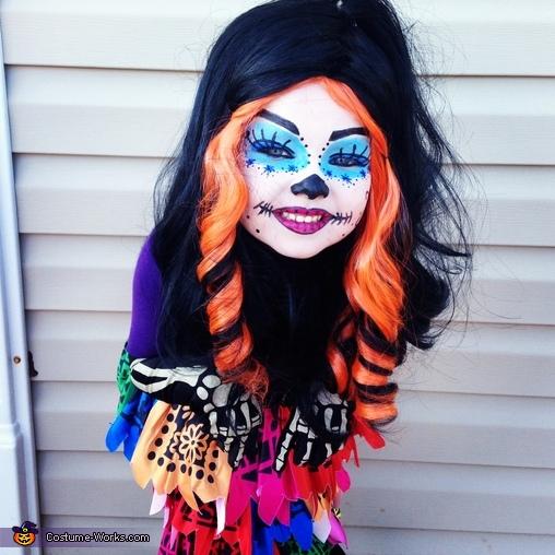 skelita calaveras costume - Skelita Calaveras Halloween Costume