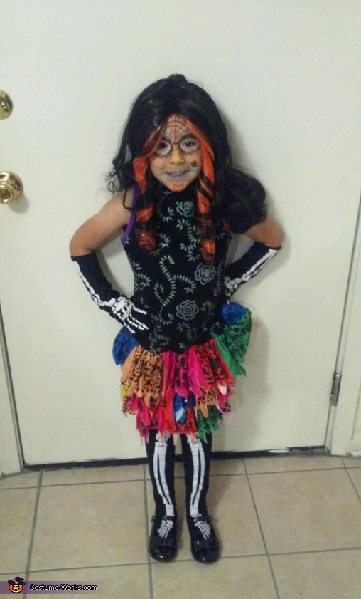 Skelita Calaveras from Monster High Costume