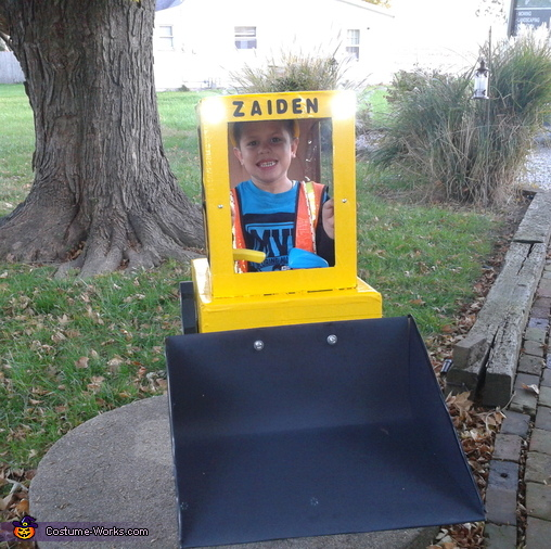 Skid Loader Costume