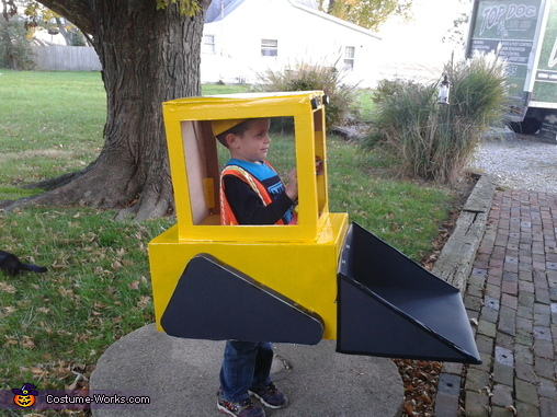 Side, Skid Loader Costume
