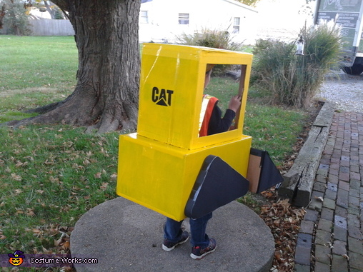 Back, Skid Loader Costume