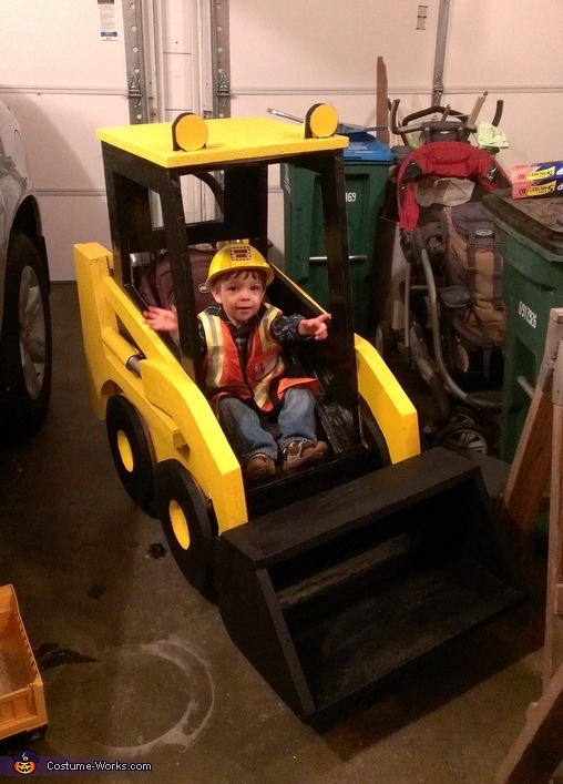 Skid Steer Costume