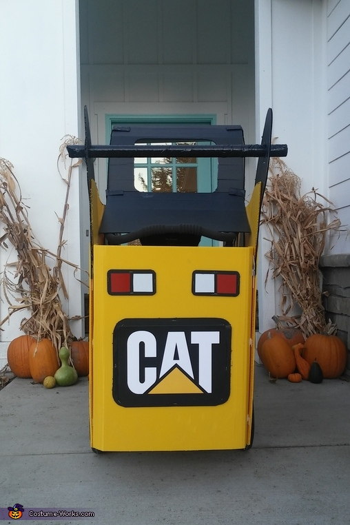 Skid Steer Homemade Costume