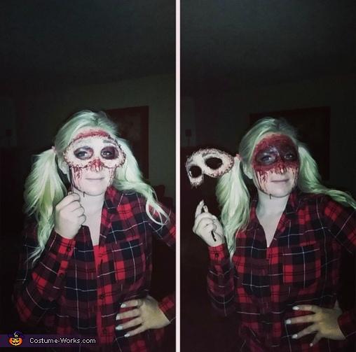 Skin Mask Costume