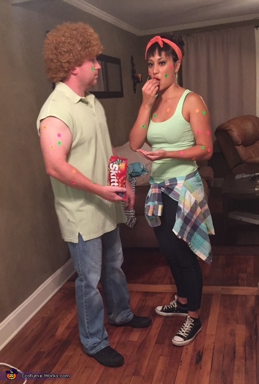 Skittles Pox Commercial Costume