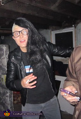 Skrillex Homemade Costume