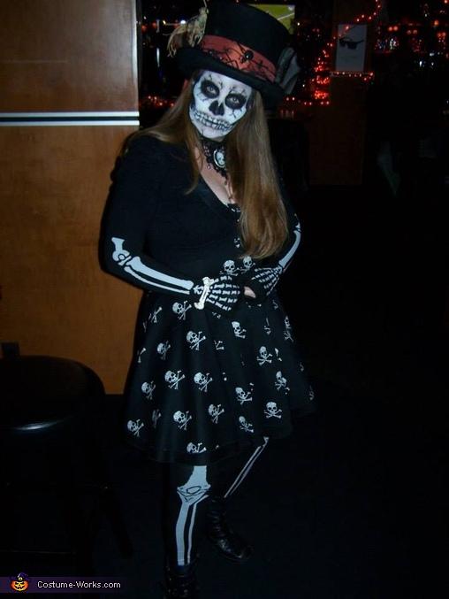 Skull Girl Costume