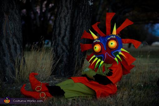 Skull Kid from The Legend of Zelda Majora's Mask Homemade Costume